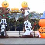山口組がハロウィンで仮装してお菓子を配る。