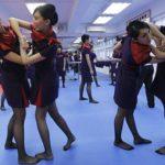 香港航空の客室乗務員(キャビンアテンダント)が詠春拳を導入。