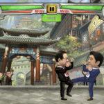 安倍総理や小沢さん、前原さんなど政治家の格闘ゲームが人気に。