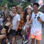 資産数百億!関西の夜業界、ダンスクラブのドンで関西1の半グレグループ春木開さん有名モデル藤井リナさんと間接キス。