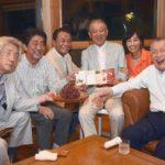 日本の政財界のドンが日本財団の笹川会長。