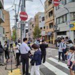 神戸市中央区花隈町の山健組本部事務所での発砲事件は8月の弘道会組員への発砲事件への返し。
