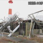 台風15号で茨城県の研究用原子炉の冷却施設が倒壊していた。(NHKニュース)