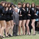 桜を見る会のオスカープロモーションのモデル軍団のスタイルが凄い!